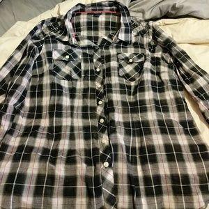Torrid plaid shirt.